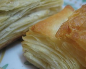 Fascia is like Phyllo Pastry