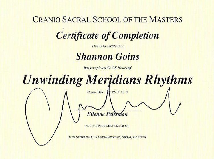 Unwinding Meridian Rhythms  (32 Hours)