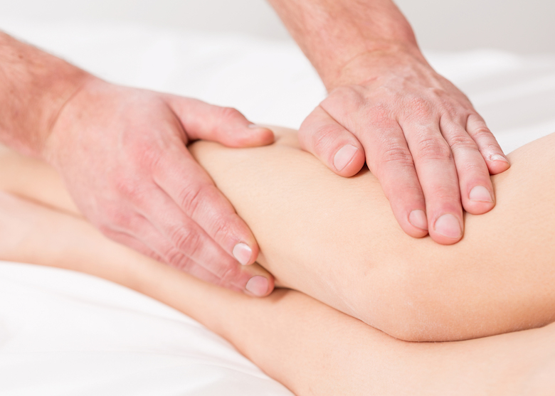 manual lymphatic drainage for knee replacement therapy recovery