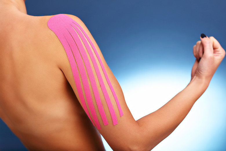 Kinesio Tape Therapy for Swelling Reduction and Scar Reduction Albuquerque