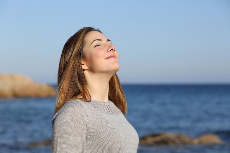 deep breathing helps stimulate lymph flow - Albuquerque