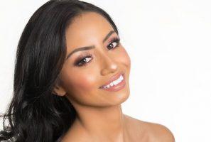 Happy Latina Woman post plastic surgery 6x9 crop
