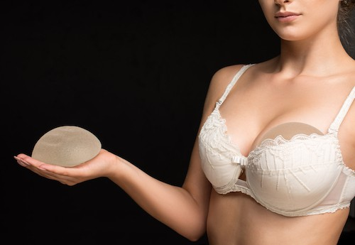 breast implant - healing after cosmetic surgery