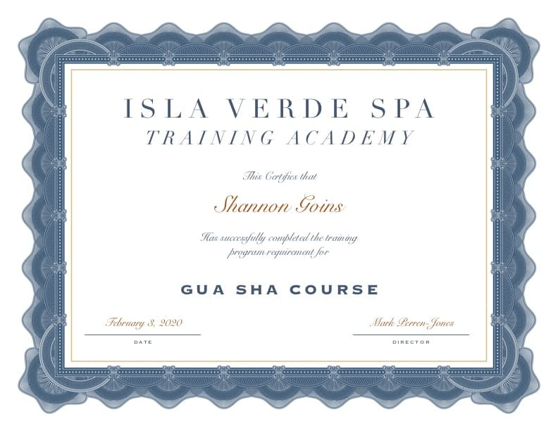 Gua Sha Certification Albuquerque