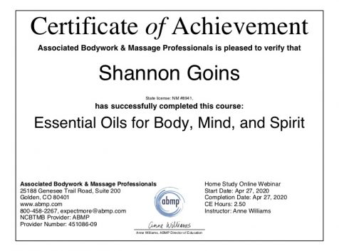 Essential Oils for Body, Mind, and Spirit Albuquerque