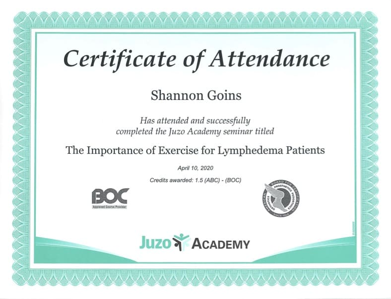 Importance of Exercise in Lymphedema Albuquerque