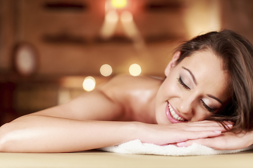 Feeling great after lymphatic massage