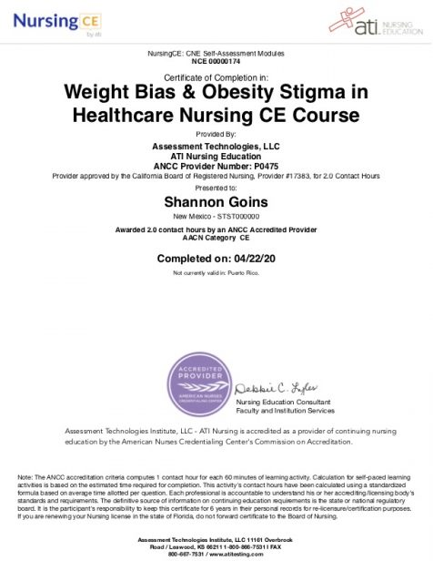 Weight Bias & Obesity Stigma in Healthcare