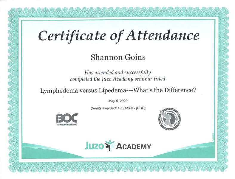 Lymphedema vs Lipedema - What's the Difference - Albuquerque