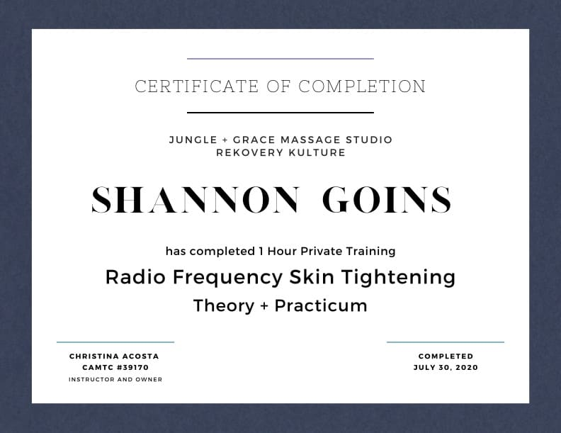 Radio Frequency Therapy for Skin Tightening