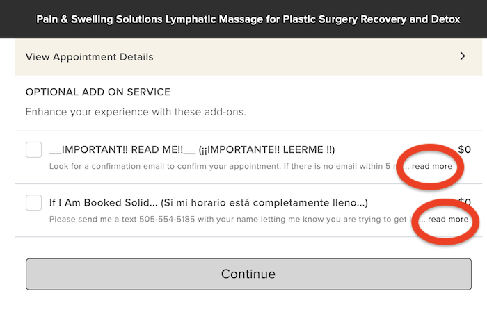 Important notes for booking a plastic surgery recovery lymphatic massage