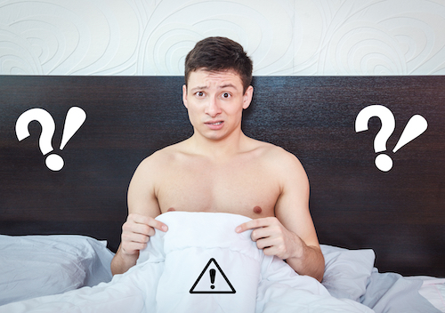 man confused about genital swelling after plastic surgery